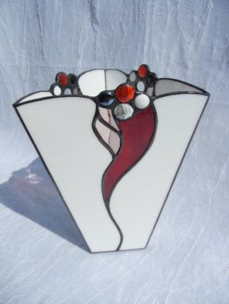 Rich Red Vase