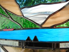 Stained Glass Lake Louise Design