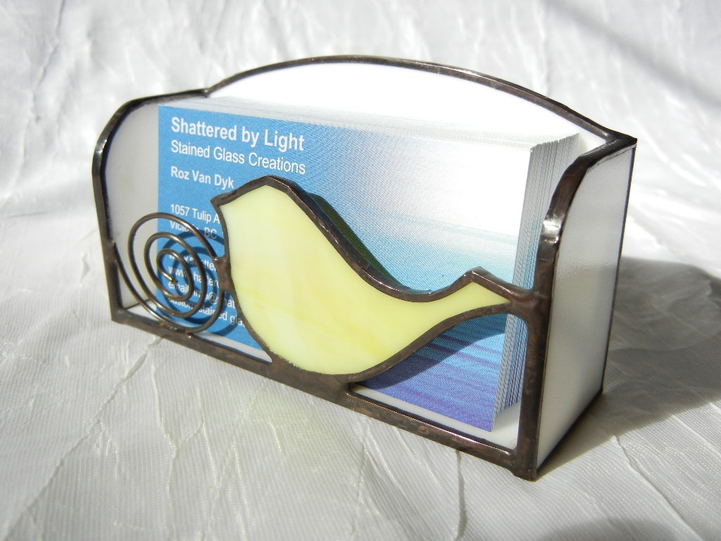 business card holder | Shattered by Light