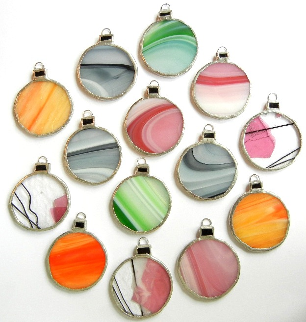Christmas Stained Glass Ornaments Part - 16: Stained Glass Snowman Design ...